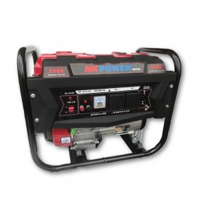 MK Power MK2200 2500W Starting 2000W Running Petrol Generator