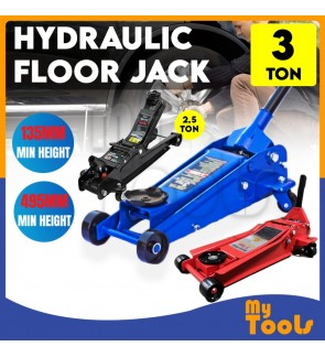 Mytools CE Certified 3 Ton Hydraulic Service Floor Jack / 3 Ton Garage Jack (Random Colour) + 3 Months Warranty