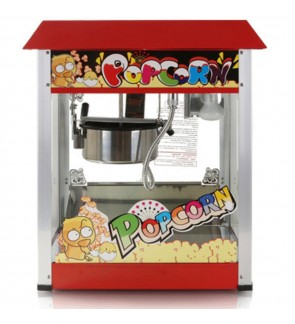 Himitzu 1400W 8OZ Commercial Popcorn Popper Maker Machine