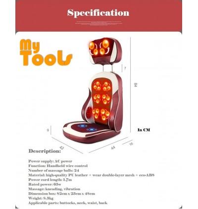 Electric Body Massage Heating Massage Cushion Therapy Machine Pad