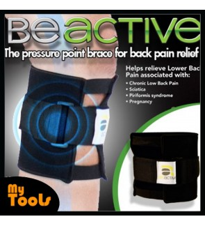 Beactive Pressure Point Brace Back Pain Acupressure Sciatic Nerve Be Active