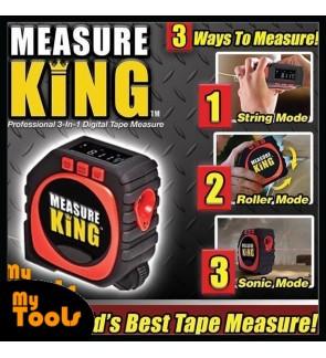 READY STOCK Measure King 3-in-1 Digital Tape Sonic String Mode Roller Measuring