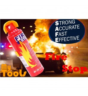 [READY STOCK] 3 Unit Portable Mini Fire Extinguisher Automotive Car & Home 500ml