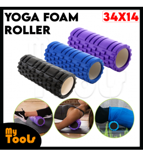 Mytools Fitness Exercise Therapy Yoga Foam Roller (Random Colour)