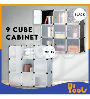 Cabinet 9 Cubes Cube DIY Wardrobe