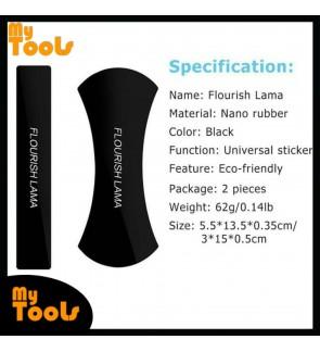 [READY STOCK] FLOURISH LAMA Magic Nano Rubber Gel Pad Universal Sticker Fixate