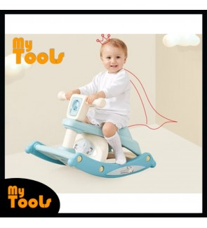 3 In 1 Toddler Seat Booster Portable Horse Baby Feeding Dining Table Chairs