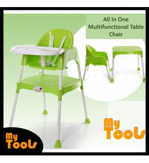 Baby Feeding Dining Learning Table Chair Seat Booster - 3 in 1