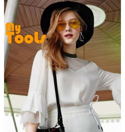 Mytools As Seen On TV Night View Yellow Sunglasses Nv Glare Reduction