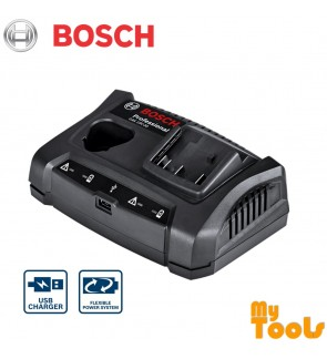 Bosch GAX 18V-30 Professional 10.8V 12V 18V Battery Charger c/w USB Port