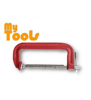 """Heavy Duty G Clamp 5"""" (125mm) with T-handle"""