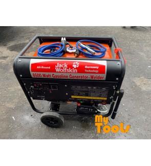 Mytools Jack Wolfskin 8500W 300A 5mm Welding Welder Petrol Gasoline Generator