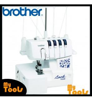 Brother 1334D - 2-Needles with 2/3/4 Threads Overlocker Machine