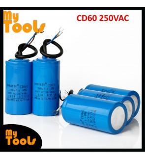 CD60 Motor Fan Starting Capacitor Condenser 250VAC 50/60Hz