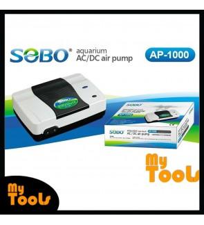 Sobo AP-1000 Auto AC / DC Air Pump Aquarium Pump Double Outlets