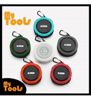 C6 Waterproof Mini Wireless Bluetooth Audio Speaker W Hanger & Suction Cup