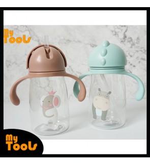 Mytools 400ML Kids Plastic Water Bottle Tumbler BPA Free Kid Drinking Bottles