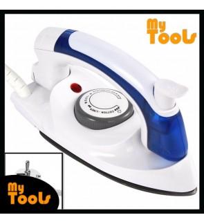 Mytools Travel Portable Steam Iron Electric Mini Foldable Handheld Dry Iron