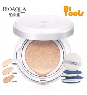 Bioaqua Snow BB Cream Air Cushion SPF50 Extreme Bare Make Up Complete Coverage Compact Foundation 15g