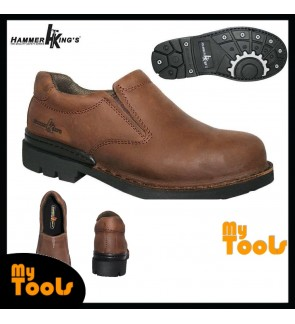 MYTOOLS HAMMER KING MEN GENUINE LEATHER SAFETY SHOE (MODEL : 13001)