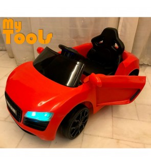 Kids Battery Operated Electric Ride On Car With LED Light