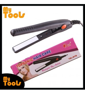 Mytools Topsonic Hair Straightener Professional Mini Travel Size Ion Flat Hair Iron