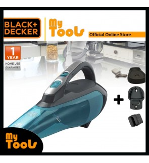 BLACK + DECKER WDA320B Wet & Dry Cordless Vacuum Cleaner 10.8V