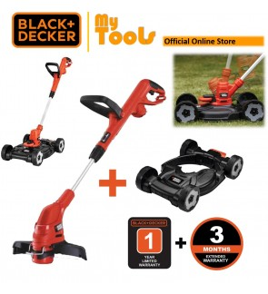BLACK + DECKER GL5530 Grass String Trimmer ( Mesin Rumput ) C/W CM100 City Mower