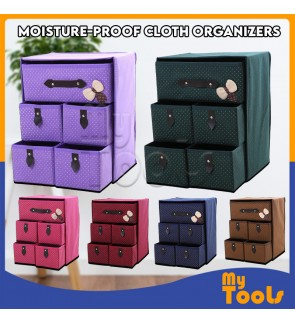 Moisture-proof Large Space Clothes Organizers Collapsible Storage Boxes