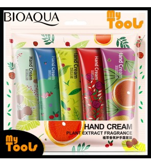 Mytools BIOAQUA 5 pcs per Set Plant Extract Fragrance Nourishing Hand Cream 30g x 5