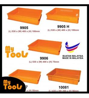 Mytools Cake Tray / Yellow Tray / Bakery Tray / Plastic Yellow Tray / Food Tray (Made In Malaysia)