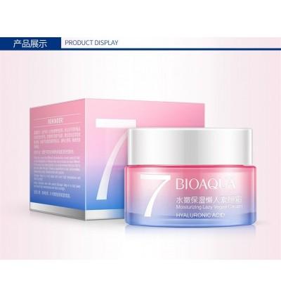 BIOAQUA 7 Hyaluronic Acid HA Moisturizing Lazy Vegan Cream 50g