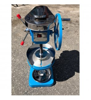 Commercial Ice Shaver Ice Shaving Machine Mesin Ice Kacang Pengisar Ais Belt Driven (Taiwan)
