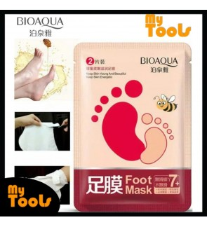 BIOAQUA 2PCS / PACK Honey Soft Moisturizing Hydrating Peel Off Dead Skin Foot Mask