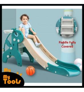 Mytools Premium Giraffe Slide Extra Long Extra Safe Children Upgrade Indoor Outdoor Kids Playground Foldable