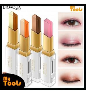 BIOAQUA Double Color Matte Lazy Eyeshadow Long Lasting Waterproof Eye Shadow