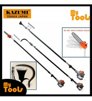 Kazumi Japan KZ360 Petrol Garden tools Telescopic Chain Saw Oil Palm Tree Pruner Pole Saw