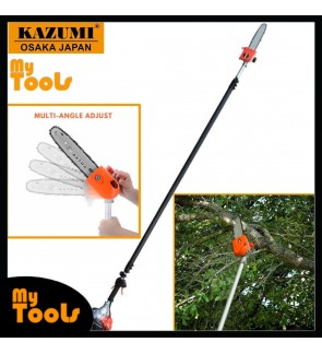 Kazumi Japan KZ360 Petrol Garden tools Telescopic Chain Saw Tree Pruner Pole Saw (USA)