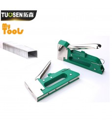 Mytools Manual Hand Nail Gun Furniture Stapler Staples 10x8mm Staples Woodworking Tacker Tools
