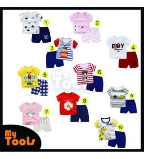 Baju Baby Baby Clothing Baby Clothes Baju Bayi Baju Budak Set Baby Shirt Boy Girl Kid Shirts Newborn