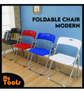 Mytools Foldable Chair Modern / Simple Dining Chair / Study Chair / Meeting Conference Chair / Lounge Chair