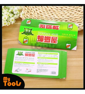 Mytools Cockroach House Trap Repellent Bait Strong Glue Sticky Catcher Insect Pest Eco-friendly Non Toxic/Kertas Penangkap Lipas