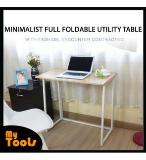 Mytools Minimalist Full Foldable Table Computer desk desktop simple foldable writing table dormitory bedroom student desk simple modern household table
