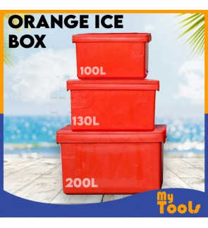 100L 130L 200L Insulated Plastic Cooler Ice Box Fish Box Bucket Tong Ais Ice Tong