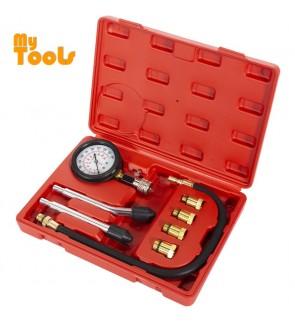 Mytools Engine Compression Tester Test Kit Gauge with Blow Case