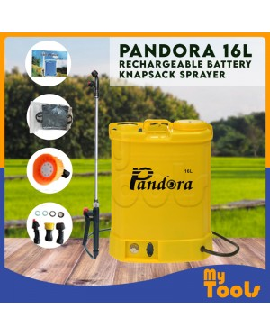 9bday Pandora 16L Rechargeable Battery Knapsack Chemical Sprayer (Japan Technology)