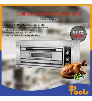 Infared Electric Oven 1 Deck 1 Tray Commercial Type