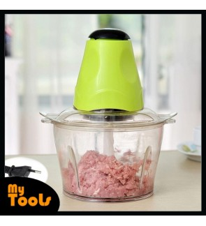 Mytools Electric Multi Function Meat Garlic Chilies Mincer Chopper Grinder Blender 250W 2.0 L (Green)