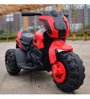 Kids Scooter Battery Electric 3 Wheel Tricycle - Random Colour (6V)