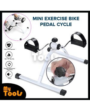 Gym Mini Exercise Bike Cycle Pedal Resistance Fitness Bicycle